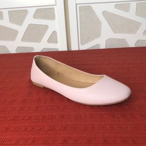 Old Navy Faux-Leather Ballet Flats